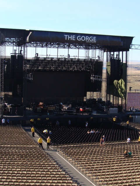 The Gorge Amphitheatre.